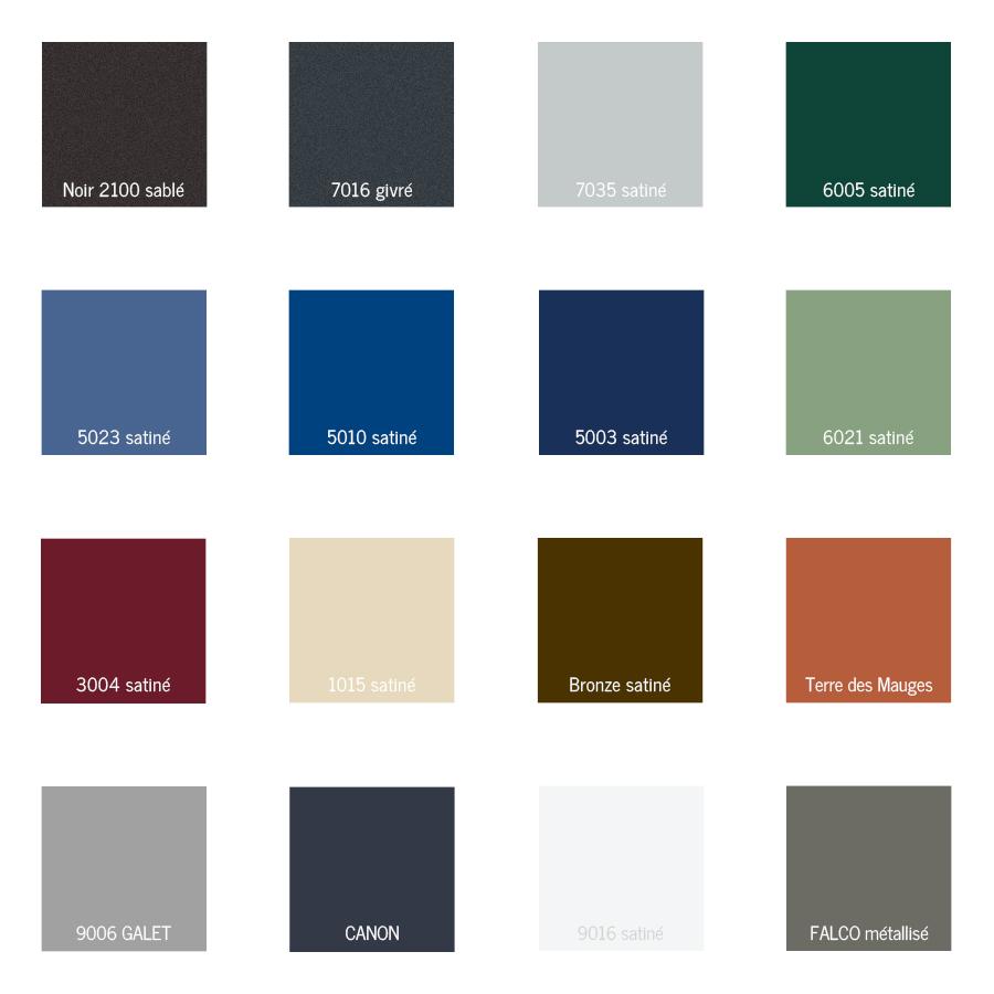 Lalliance des couleurs 20171028003108 - Couleur menuiserie alu ...