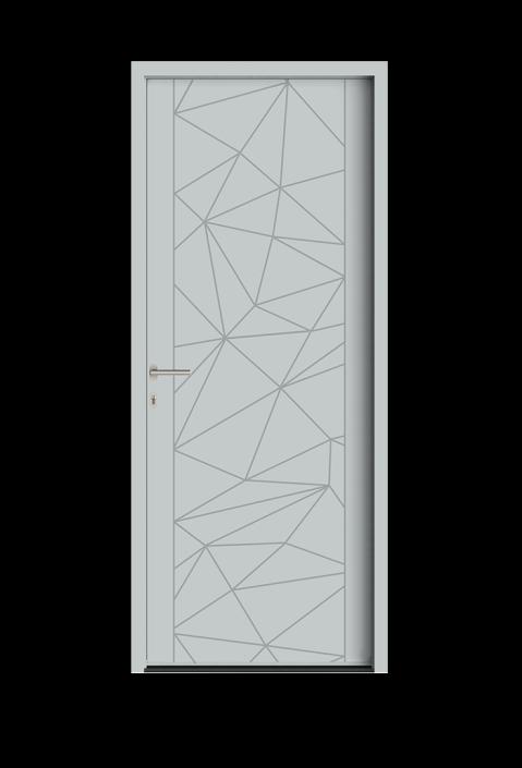 Portes D 39 Entr E Allure Portes Aluminium Acier Falco