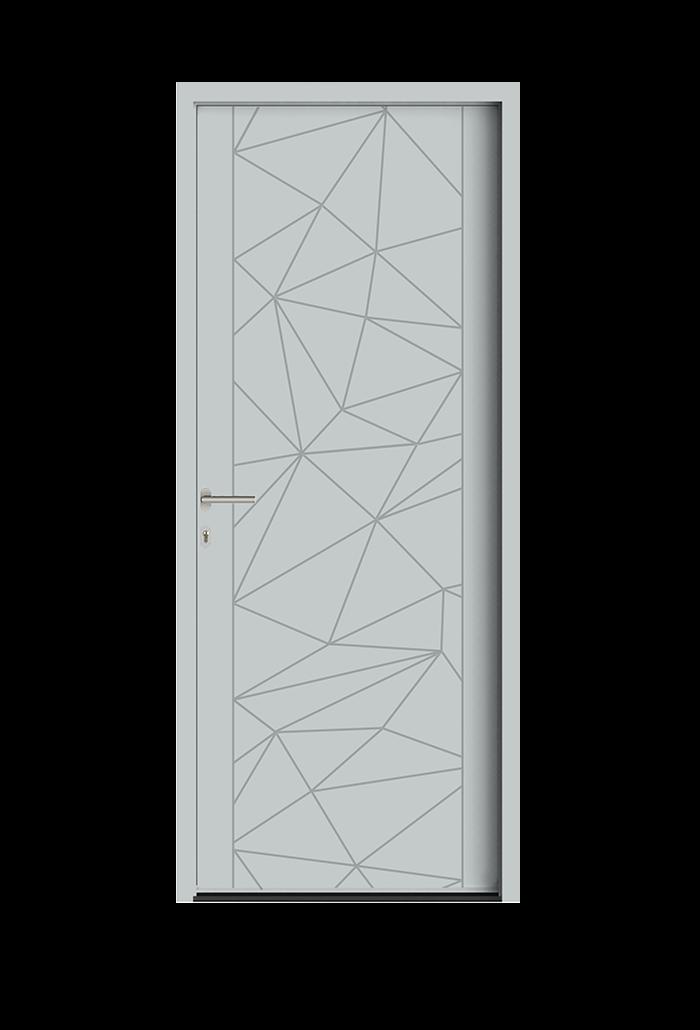 portes d 39 entr e allure portes aluminium acier falco. Black Bedroom Furniture Sets. Home Design Ideas